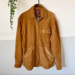 Men's The Territory Ahead Leather Suede Jacket